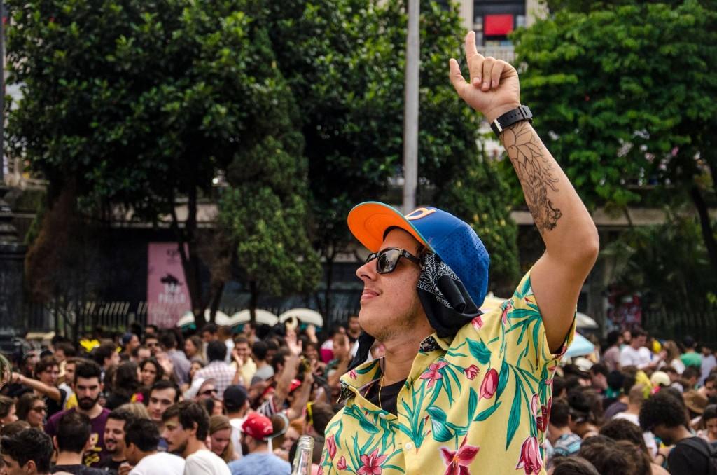 Primavera, Te Amo: DJs embalam multidão com axé, pagode e pop. Foto: reprodução.
