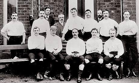Preston North End, o primeiro campeão inglês, em 1888-89. Invicto