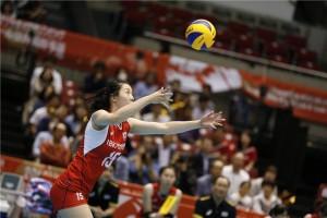 Na linha de saque, a Coreia do Sul fez a diferença, contra a Holanda (FIVB)