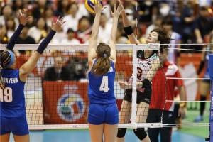 O Japão não teve dificuldade para passar pelo fraco time do Cazaquistão (FIVB)