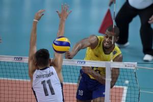 Lucarelli fez partidas de altíssimo nível no Rio de Janeiro (Fotos: Divulgação/FIVB)