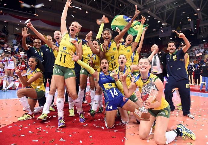 Sob o comando de Wagão, Brasil se sagrou campeão mundial sub-23 em 2015 (Fotos: FIVB)