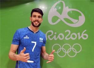 Conte está fazendo uma grande Olimpíada após sofrer lesão no ombro