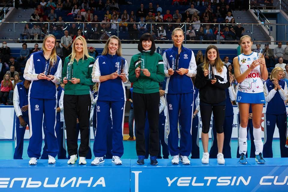 Fabíola foi eleita a melhor levantadora da Yeltsin Cup (Foto: Divulgação)