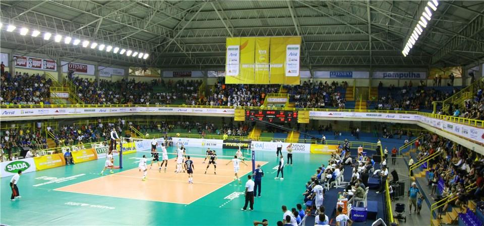 Mundial masculino de Clubes será disputado no Ginásio Divino Braga, em Betim (fotos: FIVB)