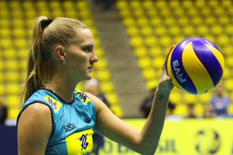 Mari não defende a seleção desde 2012 (Foto: Divulgação/CBV)