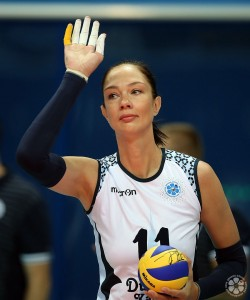 Oposta foi um dos grandes nomes da história do voleibol russo