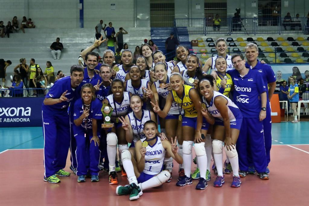 Rexona-Sesc sonha com semifinal no Mundial de Clubes (foto: Célio Messias/Inovafoto/CBV)
