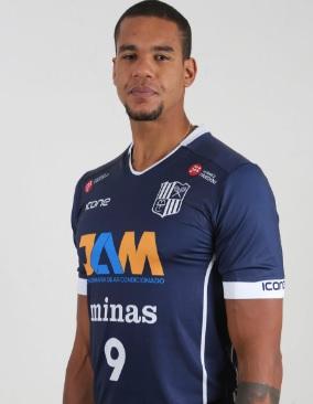 Samuel está de volta ao Minas nesta temporada (Foto: Orlando Bento/Divulgação)