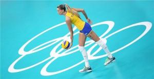 Thaisa chegou ao Eczacibasi depois das Olimpíadas (FIVB)