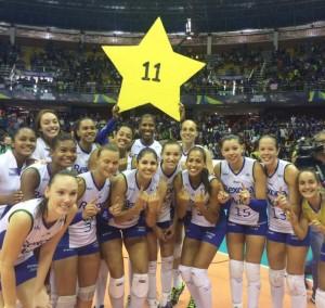 Na final do campeonato da temporada passada, o Rexona conquistou seu décimo primeiro título (foto: CBV)