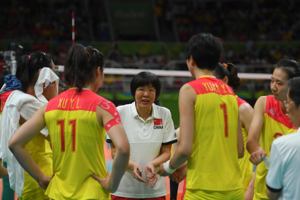 Lang Ping coach of China