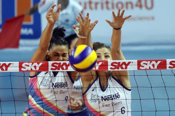 Vôlei Nestlé venceu as duas partidas que disputou na Superliga (foto: João Neto/Fotojump)