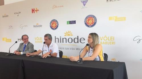 Érika será a capitã da equipe, que continuará com o mesmo elenco da Taça de Prata