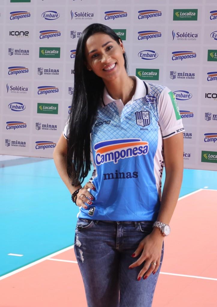 A volta de Jaqueline ao Minas foi uma das grandes contratações da temporada no vôlei brasileiro (Orlando Bento/MTC)