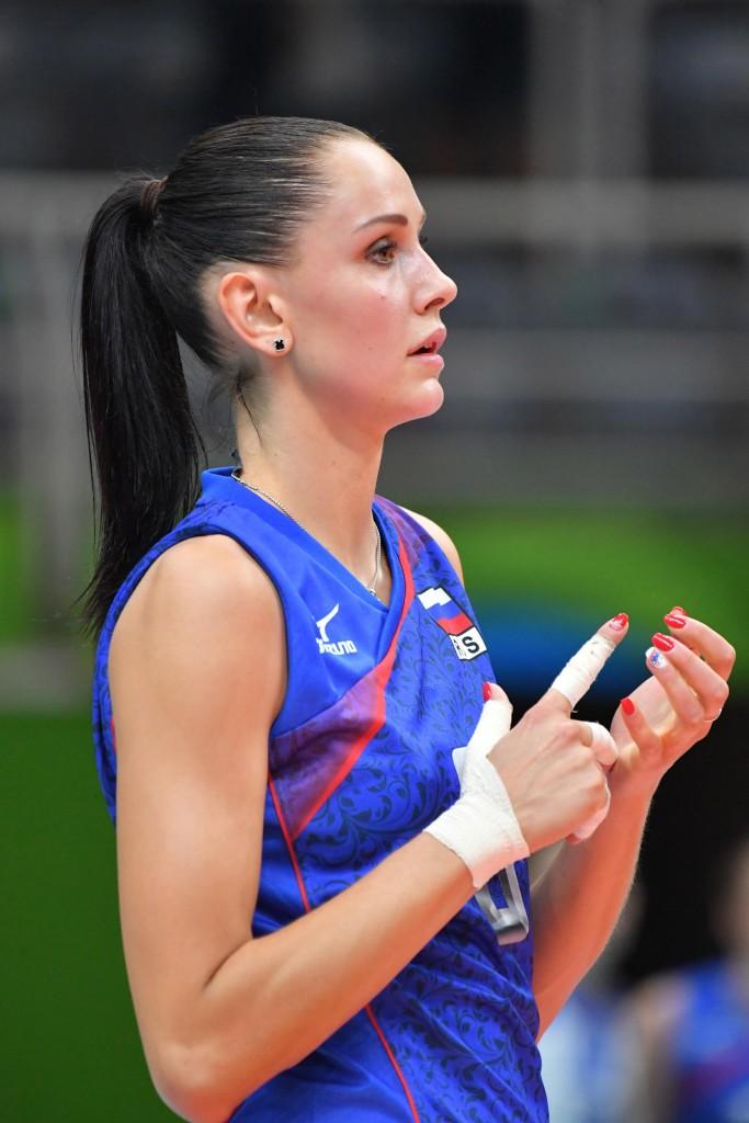 Nataliya Goncharova of Russia