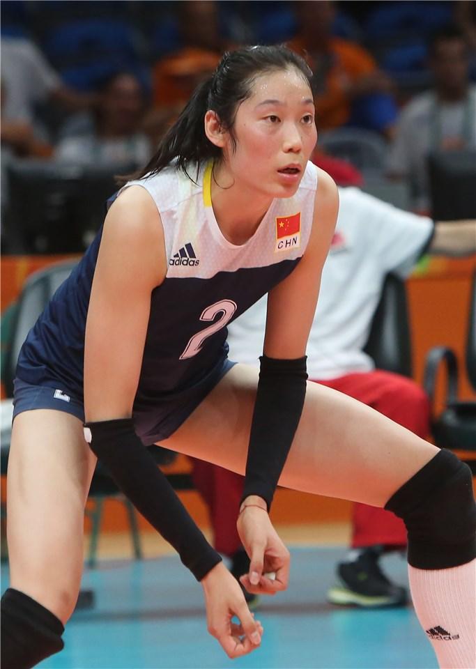 Ting Zhu foi a grande jogadora do ciclo olímpico para a Rio 2016
