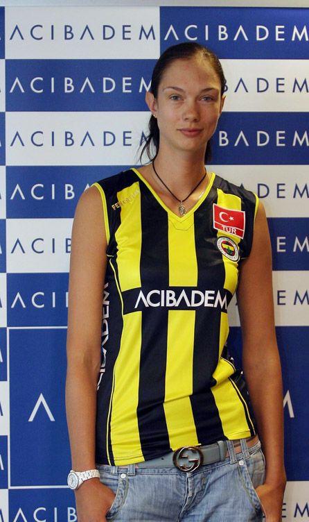 Gamova atuou uma temporada pelo Fenerbahçe