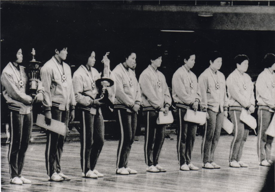 Em 1967, as japonesas conquistam o troféu num campeonato reduzido (foto: FIVB)