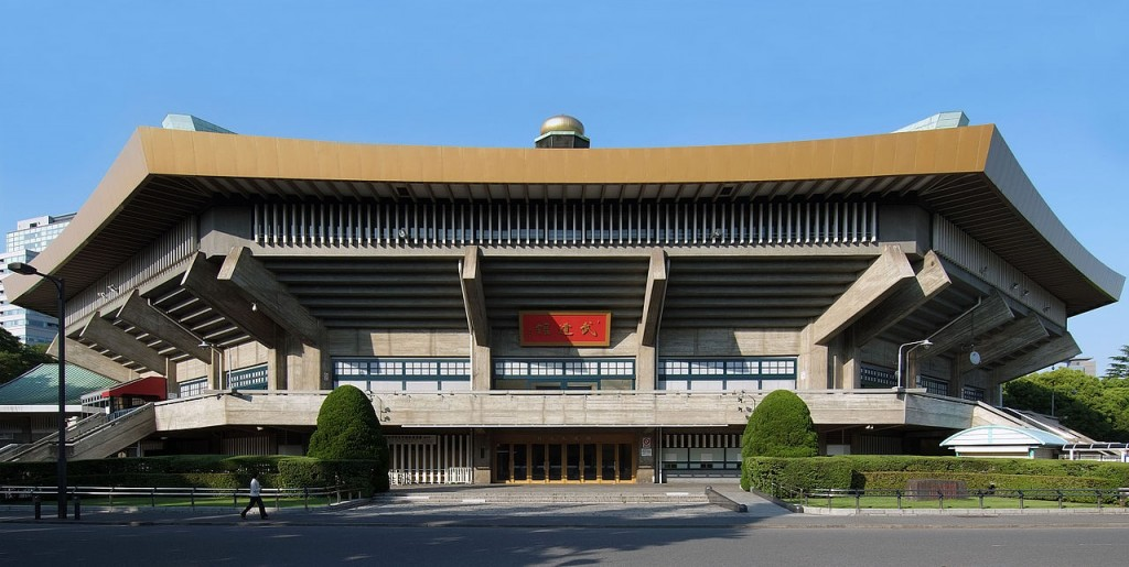 O Nippon Budokan recebeu as partidas do Mundial de 1967 (reprodução/internet)