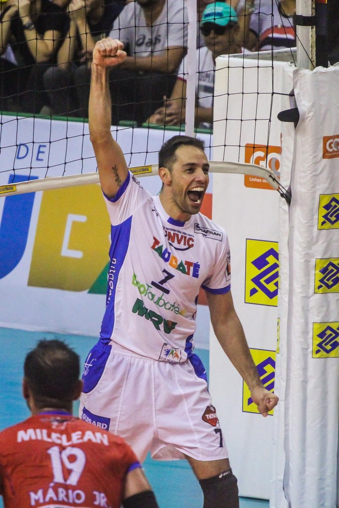 Raphael foi eleito o melhor jogador da decisão da Copa Brasil