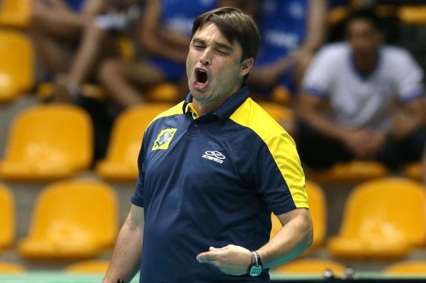 Rubinho comandou o Brasil em duas edições do Pan e no início da Liga Mundial de 2015 (Foto: Wander Roberto/CBV)