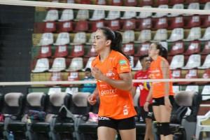 Thaisinha é a sexta maior pontuadora da Superliga (Foto: Divulgação/Genter Vôlei Bauru)