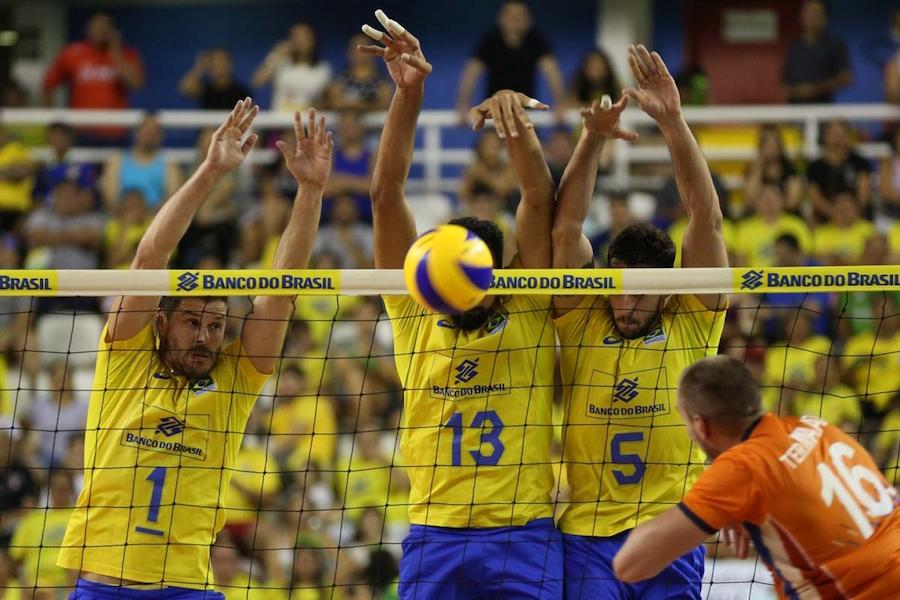8b1ff8d5c8 Brasil volta a vencer a Holanda em preparação para o Campeonato Mundial
