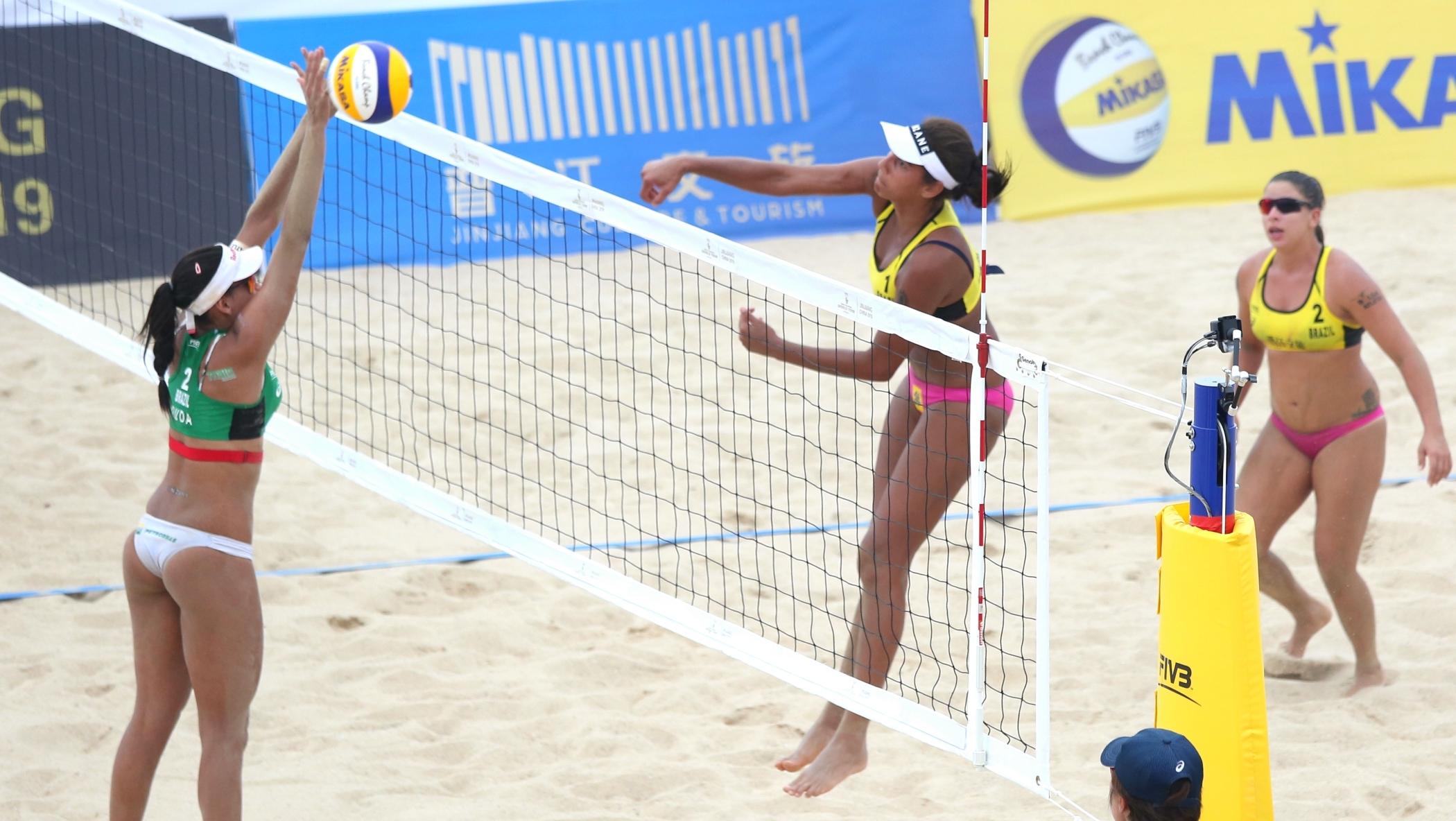 9b21571a8 Ana Patrícia ataca contra bloqueio de Duda na disputa do bronze