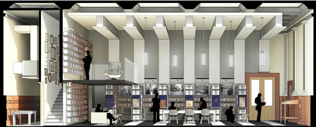 "Projeto da ""Ala Philip Roth"" da Biblioteca Pública de Newark"