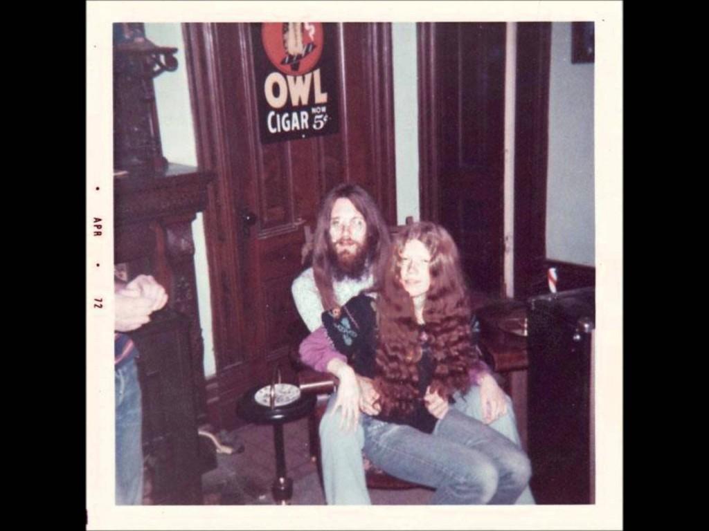 Erick Lee Purkhiser (Lux) e Kristy Marlana Wallace (Ivy) em abril de 1972