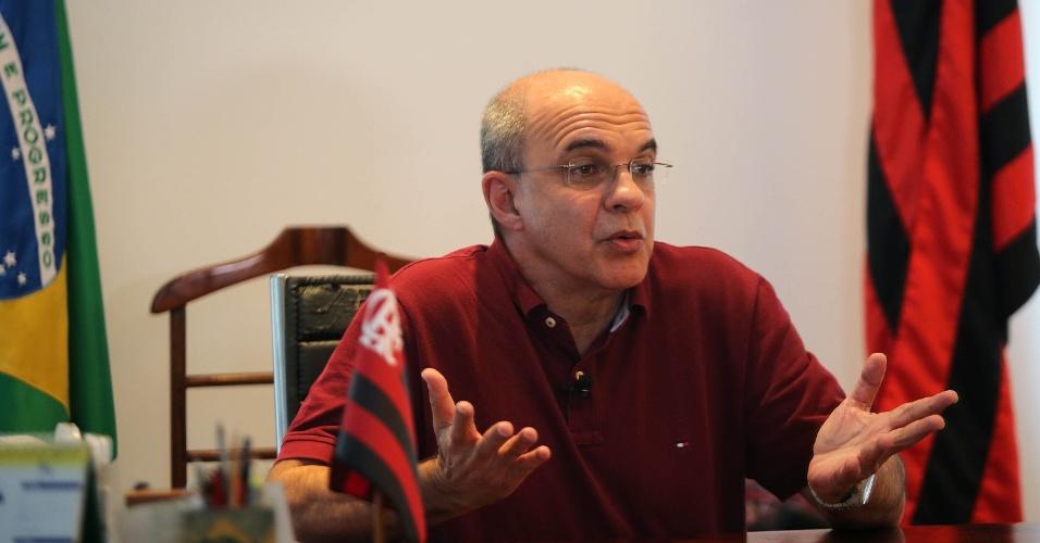 Resultado de imagem para presidente do Flamengo, Eduardo Bandeira de Mello