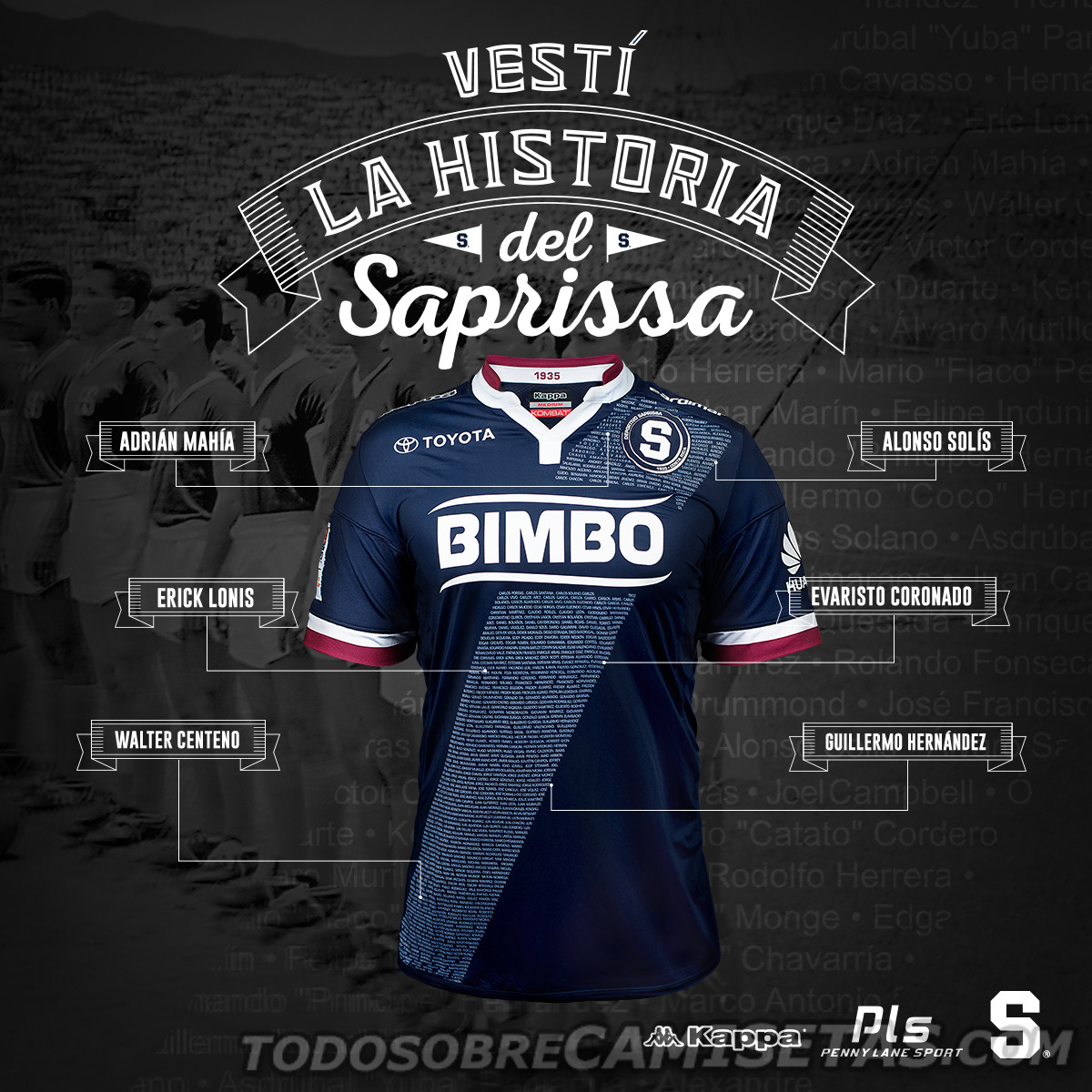 Uma eleição popular pela internet feita pelo site inglês especializado em  camisas de futebol Subside Sports coroou o Deportivo Saprissa 7f3d44dfd5373