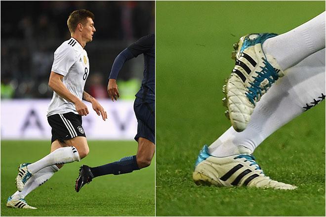 O jornal inglês The Sun afirmou que o jogador chegou a um acordo com a  Adidas para que eles seguissem fabricando as chuteiras especialmente para  ele. 685455ce267a0