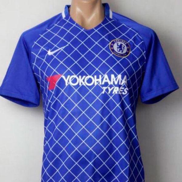 24b02c4b69 Novo uniforme do Chelsea pode ter detalhes lembrando de temporada ...