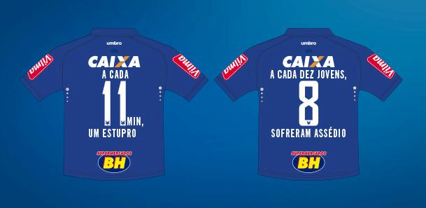 O Cruzeiro terá uma novidade em sua camisa para a partida contra o Murici  pela Copa do Brasil nesta quarta-feira 3eedfd9d0b121