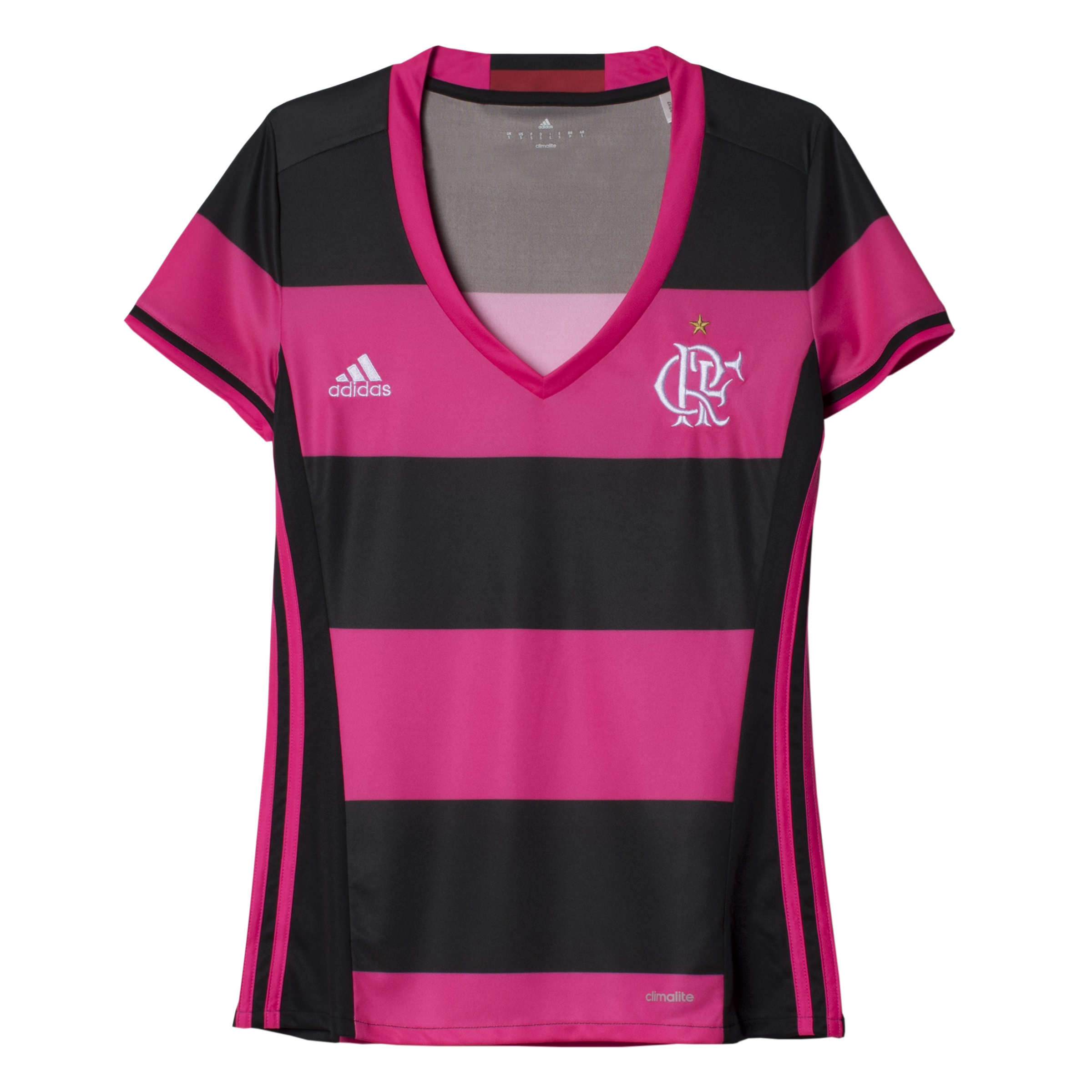 Fla lança camisa rosa e preto em comemoração ao Dia Internacional da Mulher fe5cf0f3044e6