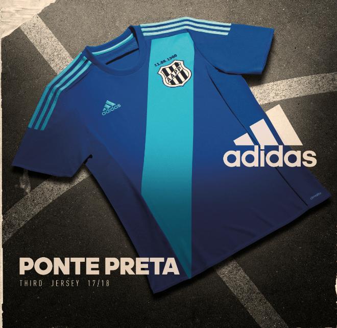 A Ponte Preta vestirá azul neste sábado contra o Novorizontino pelo  Campeonato Paulista. Será a estreia do novo terceiro uniforme produzido  pela Adidas. fa2fc9eca2c16