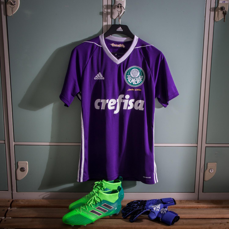 Palmeiras lança camisa de goleiro na cor roxa 2d722fd18d528