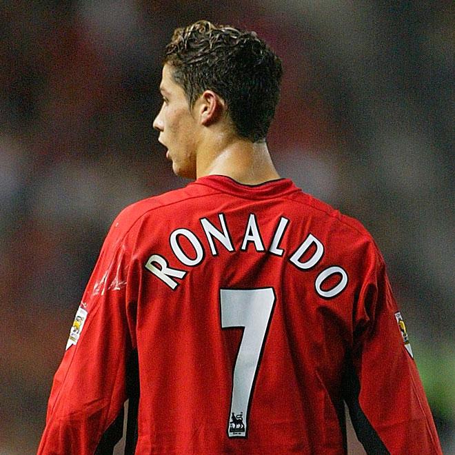 6d14528515b29 Cristiano Ronaldo foi obrigado por Ferguson a vestir a camisa 7 do  Manchester