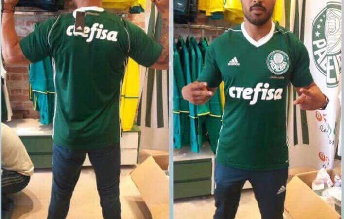 435dc89b34b8a De volta aos anos 80  Nova camisa do Palmeiras vaza (mas pode não ...