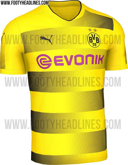 Vaza uniforme número um do Dortmund para próxima temporada - 20 04 ... 2e3cef31265eb