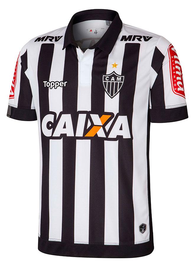 Lançamento de uniforme do Atlético-MG tem provocação ao Cruzeiro ... 93ed0a21b2818