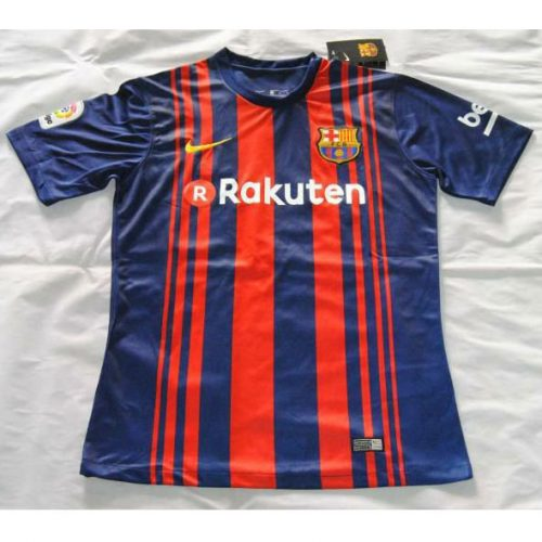 e4e335de50 Camisa do Barcelona deve ganhar listras verticais finas e ficar mais ...