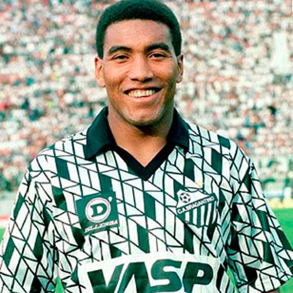 9fc4afb550 Uma das camisas mais marcantes do futebol paulista nos anos 90 é do  Bragantino. O time campeão paulista em 1990 usava um uniforme cinza