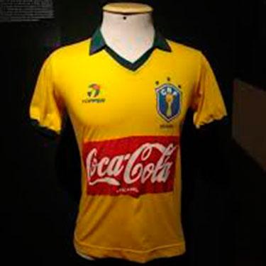 62cce86ac6 DiadaCamisaVelha  Seleção já teve patrocínio de camisa - 20 04 2007 ...