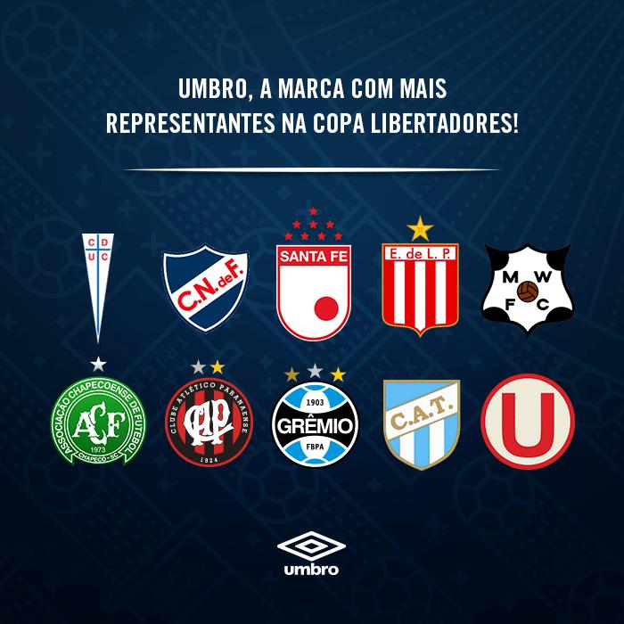 Por que a Umbro é a marca que mais patrocina times na Libertadores ... 7960e50e8d13c
