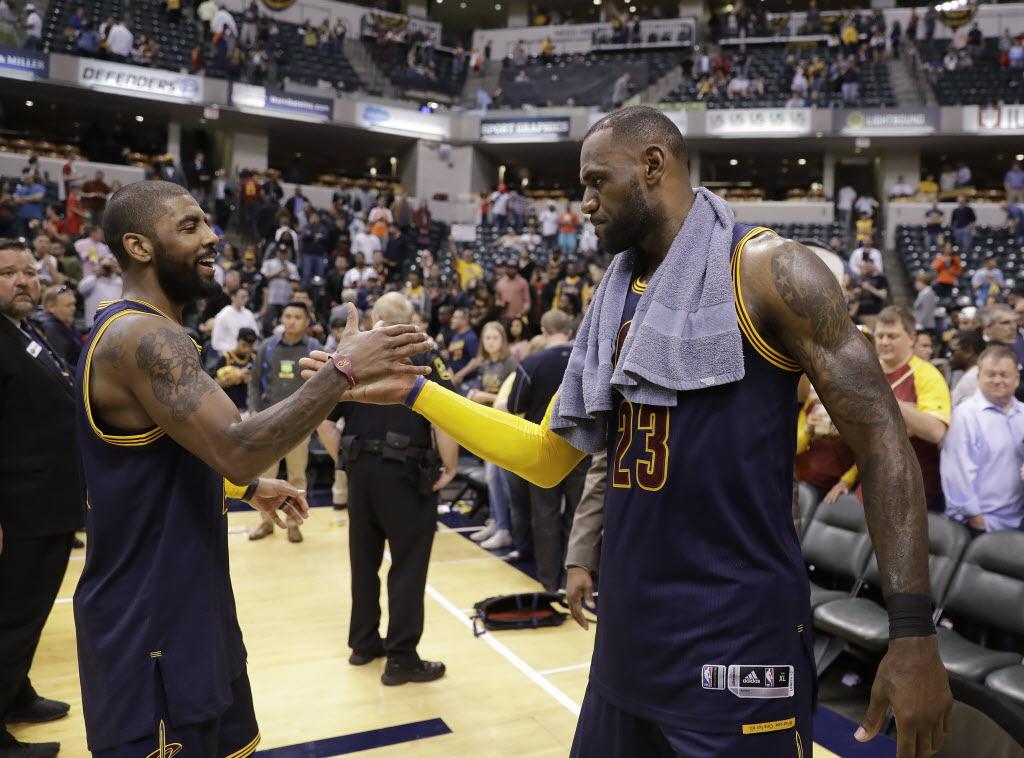 Cleveland Cavaliers e Golden State Warriors protagonizaram as duas últimas  decisões da NBA 8d6094dfeb0ed