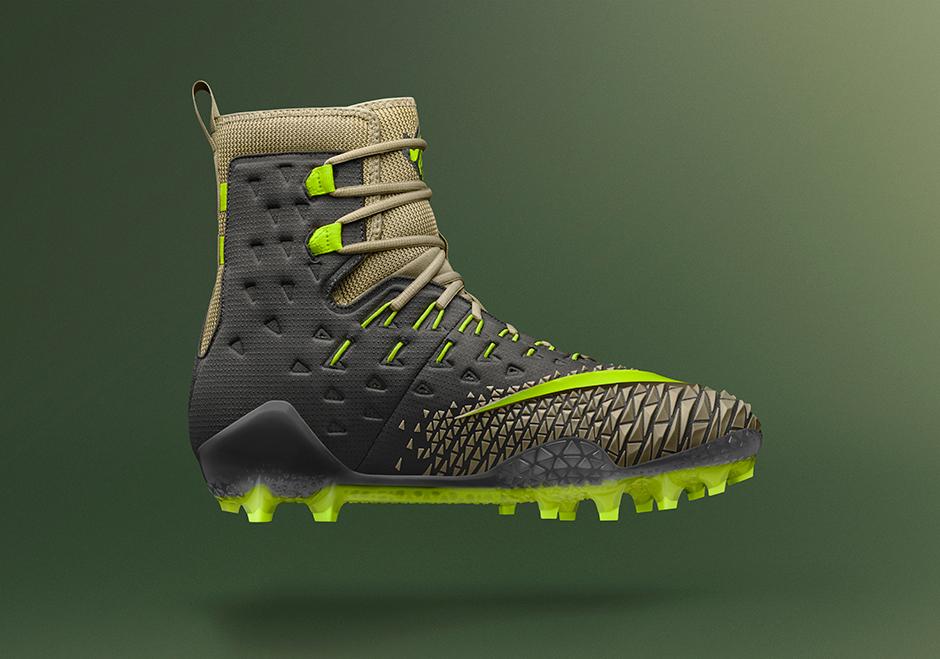 Nike se inspira em Hulk e cria chuteira para posição pouco badalada na NFL 4b701a0976b56