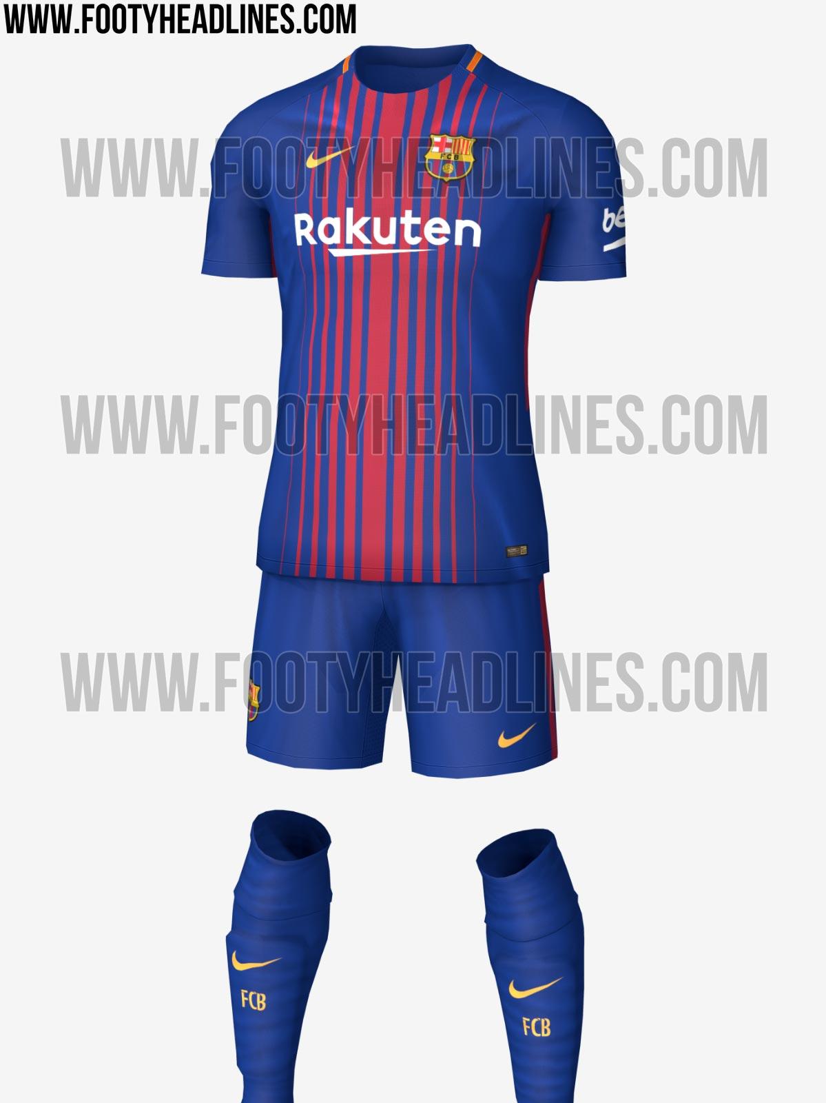 O uniforme tradicional do Barcelona sofrerá mudanças para a próxima  temporada. E não é apenas no patrocínio. O site especializado em camisas de  futebol de ... 0e5f4c76d5cf1